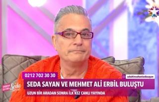 Hayranı, Mehmet Ali Erbil'i ağlattı