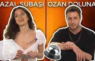 Hazal Subaşı ve Ozan Dolunay Sosyal Medyadan Gelen...