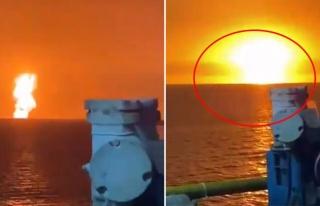 Hazar Denizi'nde büyük patlama! Atom bombasını...
