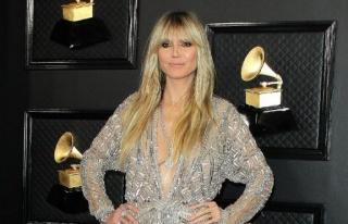 Heidi Klum corona virüsü testinin negatif çıktığını...