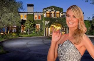 Heidi Klum lüks malikanesinde karantinada