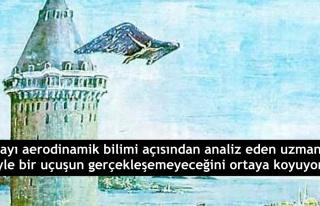 Hezârfen Ahmed Çelebi Gerçekten Galata Kulesi'nden...