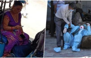 Hindistan'da Korona Kabusu: Ambulans Bulunamayınca...