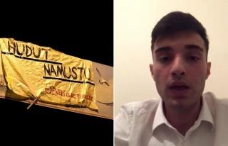 'Hudut Namustur' Pankartı İçin 'Kullanıldım'...