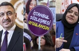 Hükümetten 'İstanbul Sözleşmesi' Açıklamaları:...