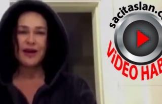 Hülya Avşar'ın bornozlu klibine rekor beğeni