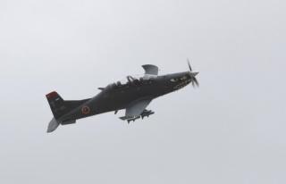 'Hürkuş Hyeu' ilk kez gösteri uçuşu gerçekleştirdi