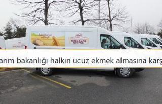 İBB'nin Mobil Büfelerde Ucuz Ekmek Satışına Yasak...
