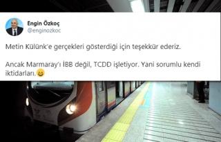 İBB'yi Eleştireyim Derken Bakanlığa Bağlı TCDD'yi...