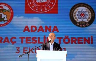İçişleri Bakanı Soylu, Adana Emniyet Müdürlüğüne...