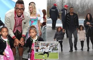 İkiz çocuklarının annesini darp eden Jerome Boateng'e...