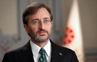 İletişim Başkanı Altun: 'Habertürk'ü Kınıyoruz'