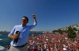 İmamoğlu: 'İstanbul'u Alan Türkiye'yi Alır...