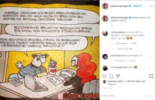 İmamoğlu'ndan Karikatürlü Paylaşım:'Kurban Oliyim,...
