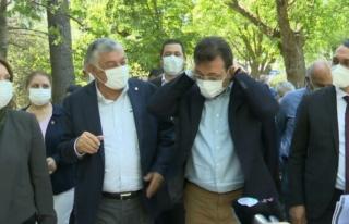 İmamoğlu'ndan Sarıyer Belediye Başkanı'na Yürüyüş...
