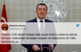 İmla Kurallarını Unutan MEB ve Ziya Selçuk Sosyal...