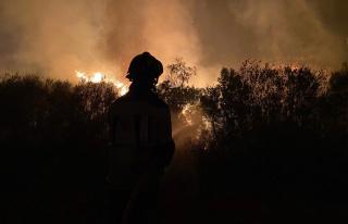 İspanya'da yılın en büyük yangını: 12 bin...
