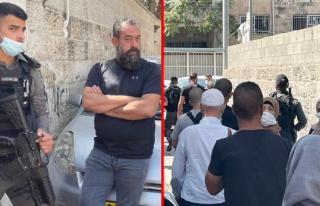 İsrail güçleri Kudüs'te okula baskın yaparak...