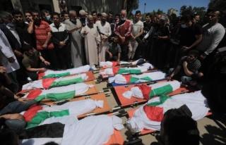 İsrail'in Gazze'ye düzenlediği saldırıda aynı...