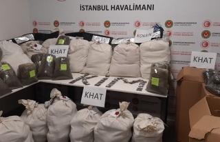 İstanbul Havalimanı'nda 24 Milyon Liralık Uyuşturucu...