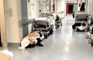 İtalya'da Koronavirüs Nedeniyle Hastaneler Dolmaya...