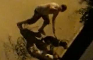 İzmir'de Hayvana Şiddet: Köpekleri Boruyla Dövdü