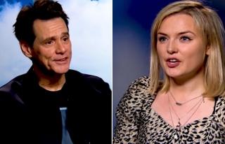 Jim Carrey'den kadın gazeteciye çirkin yanıt!