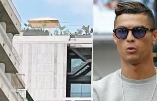 Kaçak çardak Cristiano Ronaldo'nun başını yakacak