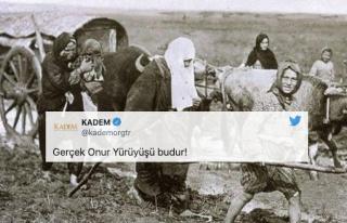 KADEM'in 'Gerçek Iftihar Yürüyüşü Budur' Paylaşımları...