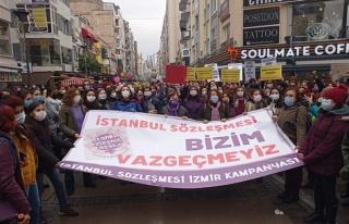 Kadınlar Sokakta: 'İstanbul Sözleşmesini Uygula'