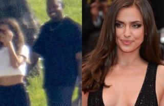 Kanye West ve Irina Shayk aşkı belgelendi