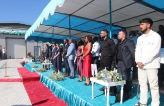 Karaman'da TKDK desteğiyle kurulan zeytinyağı tesisi...