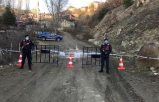 Kastamonu'da vakaların arttığı köy, karantinaya...
