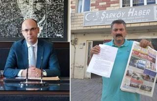 Kaymakam 'Kaçak Lojman' Haberi Yapan Gazeteciye 'Uzaklaştırma'...