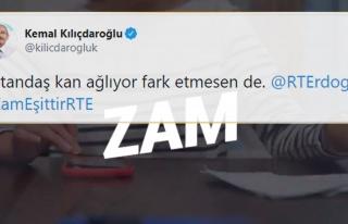Kılıçdaroğlu, Erdoğan'ı Etiketleyerek Paylaştı:...
