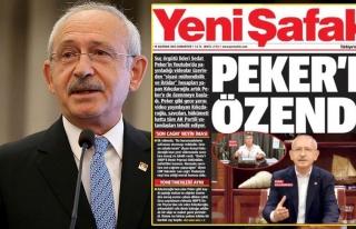 Kılıçdaroğlu, Yeni Şafak'ın Manşetini Ti'ye...
