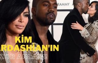 Kim Kardashian'a Bile Zor Anlar Yaşatan Hayat Bize...
