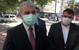 Kırşehir Valisi Akın: İlimizde vaka sayılarında...
