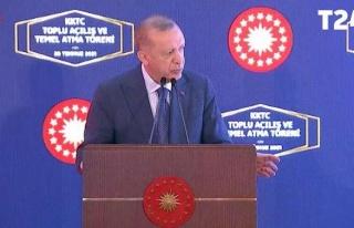 KKTC'de Erdoğan'ı Kızdıran Prompter: 'Kim Yönetiyor...