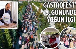 Konya GastroFest'e ikinci gününde yoğun ilgi