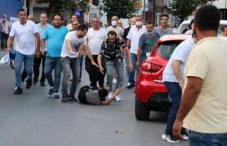 Konya Katliamı Protestosunu Takip Eden Gazetecilere...