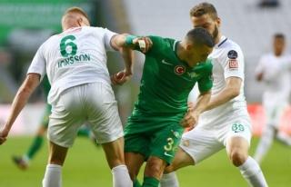 Konyaspor'a Akhisar sürprizi