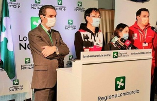 Koronavirüs ile Mücadele İçin İtalya'ya Giden...