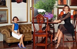 Kozmetik devi ünlü iş kadını Tayfun Çimen Ergut'a...