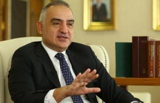 Kültür ve Turizm Bakanı Ersoy: '17 Mayıs İtibarıyla...