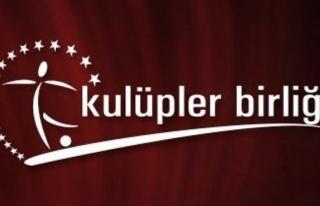 Kulüpler Birliği'nin yeni başkanı Ahmet Ağaoğlu...