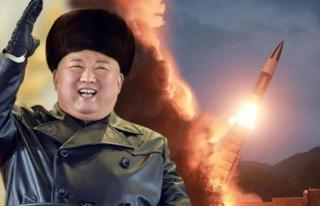 Kuzey Kore'den bir deneme daha Ne füzesi olduğu...