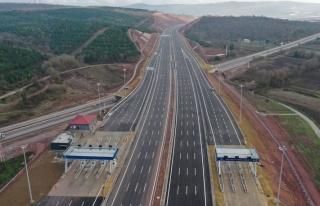 Kuzey Marmara Otoyolu İçin 2,1 Milyar TL Geçiş...