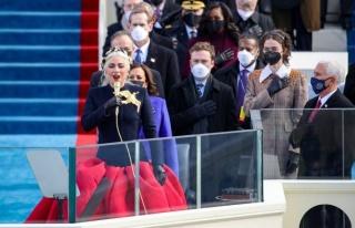 Lady Gaga, Joe Biden'ın Yemin Töreninde ABD Milli...