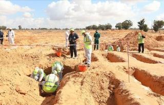 Libya'nın 'Toplu Mezarlar Kenti' Terhune'de Yeni...